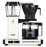 Moccamaster 53974 KBG Select Filterkaffeemaschine, Aluminum, 1.25 liters, Off-White