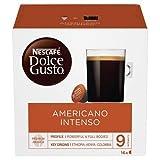 NESCAFÉ Dolce Gusto Grande Intenso | 48 Kaffeekapseln | Arabica Bohnen aus Ostafrika und Südamerika | Haselnussbraune Crema | Aromaversiegelte Kapseln | 3er Pack (3 x 16 )