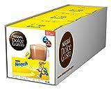 NESCAFÉ Dolce Gusto Nesquik (Trinkschokolade, köstlicher Kakao Geschmack, Leckeres Kakaoaroma von Nesquik, Schnelle Zubereitung, Aromaversiegelte Kapseln) 3er Pack (3 x 16 Kapseln)