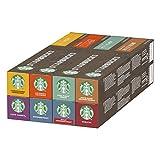 Starbucks Nespresso Variety Pack, 8 Flavours (8 x 10 capsules)