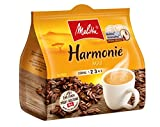 Melitta Gemahlener Röstkaffee in Kaffeepads, 10 x 16 Pads, mild, milder Röstgrad, Stärke 2, Harmonie Mild