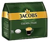 Jacobs Crema Classic 16 Kaffee Pads, 10er Pack (10 x 105 g)