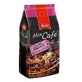 Melitta Ganze Kaffeebohnen, charaktervoll und intensiv mit Nuancen dunkler Schokolade, kräftiger Röstgrad, Stärke 4, Mein Café Dark Roast, 1kg