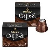 Dallmayr Capsa Espresso Chocolat, Nespresso Kompatibel Kapsel, Kaffeekapsel, Röstkaffee, Kaffee, 20 Kapseln