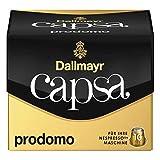 Dallmayr Capsa Prodomo, Nespresso Kompatibel Kapsel, Kaffeekapsel, Arabica Röstkaffee, Kaffee, 100 Kapseln