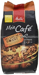Melitta Ganze Kaffeebohnen Mein Café Medium Roast