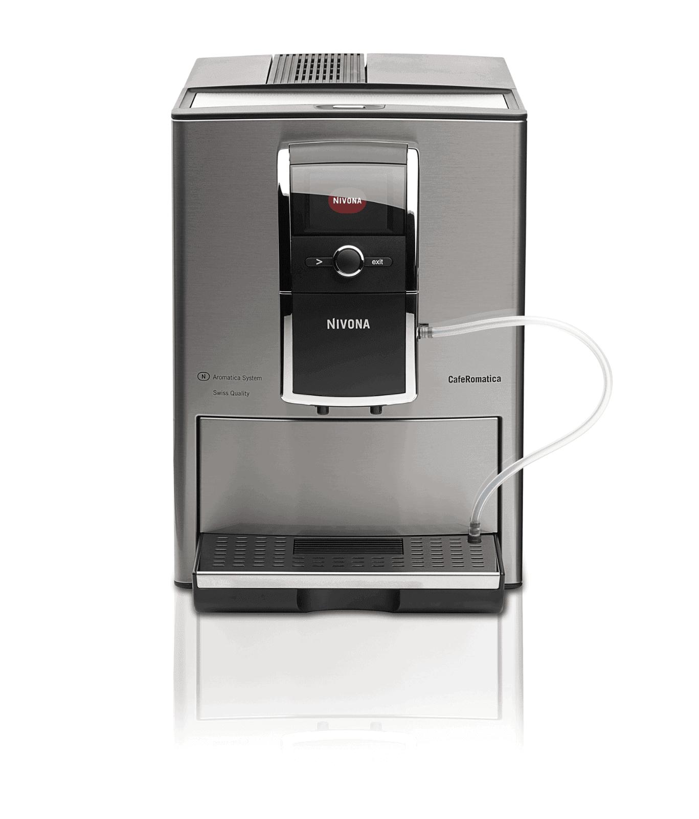 Kaffeevollautomat Nivona  Menü -> Kaffeemaschine Delonghi Entkalken