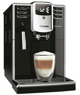 Kaffeevollautomat mit dampfdüse