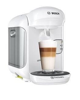 Kaffeepadmaschinen mit Milchaufschäumer