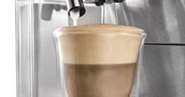 kaffeevollautomat mit dampfdüse oder einsaugsystem