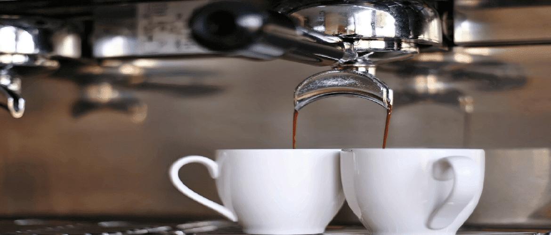 Siebträgerkaffeemaschine