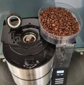Kaffeemaschine mit Mahlwerk Melitta