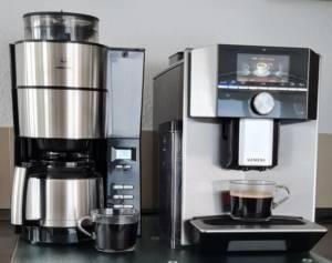 Melitta Kaffeemaschine mit Mahlwerk und Isolierkanne