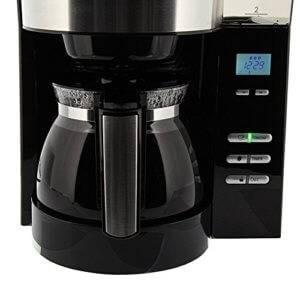 Melitta AromaFresh Filterkaffeemaschine mit integriertem Mahlwerk