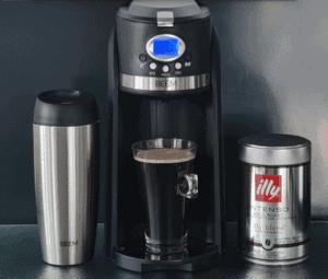 Kleine Filterkaffeemaschine