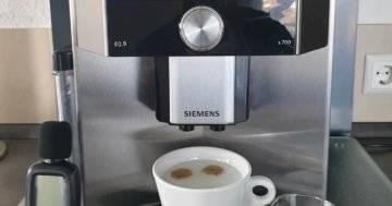 Siemens EQ9 s700 test
