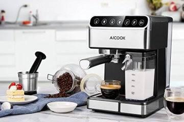 Kaffeemaschine Aicook mit Touchscreen