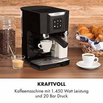 Klarstein BellaVita Espressomaschine