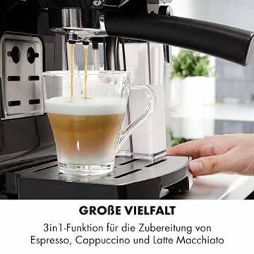 für Cappucino, Espresso, Latte Machiato