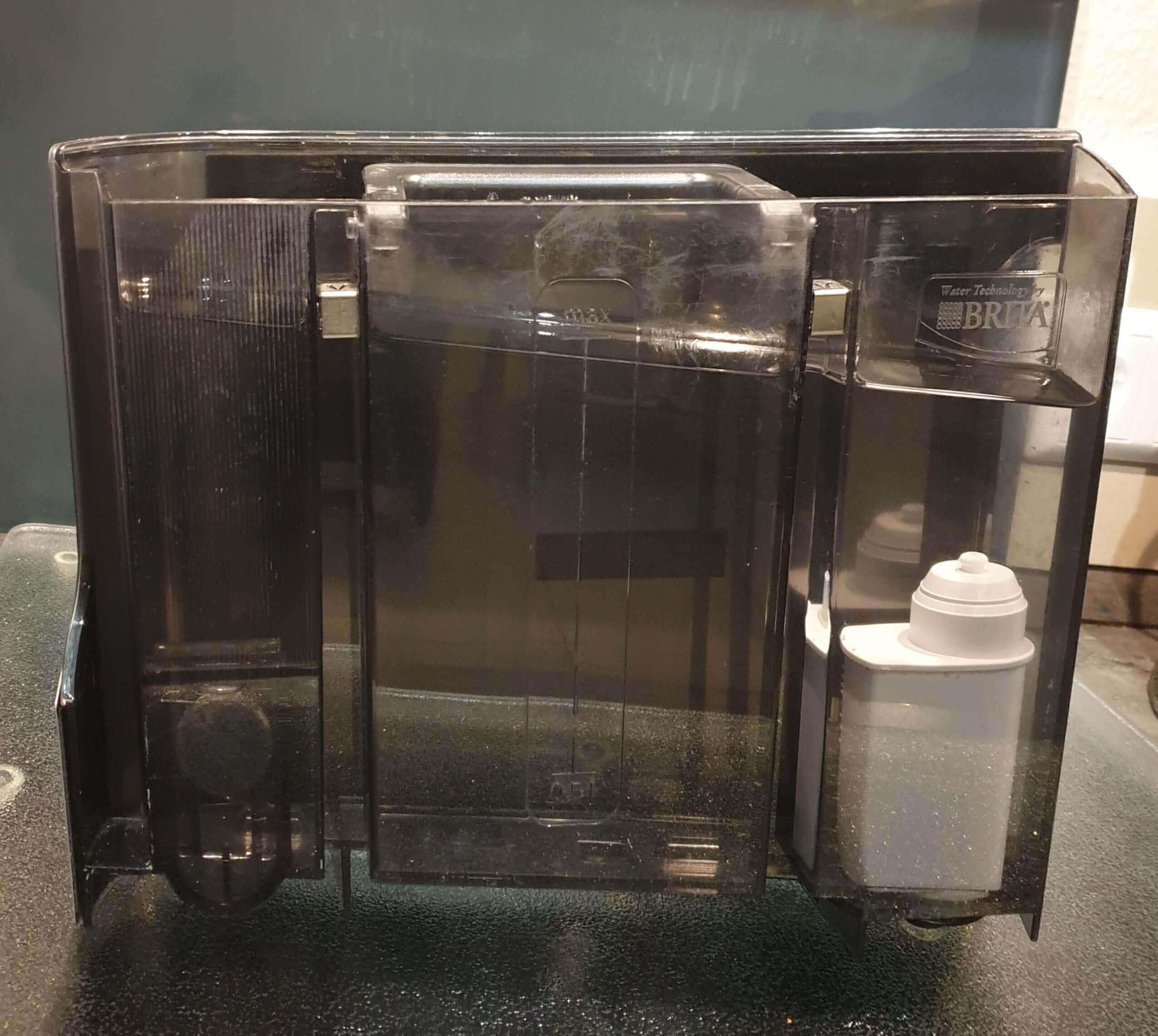 Siemens EQ9 Test entnehmbarer Wasserbehälter