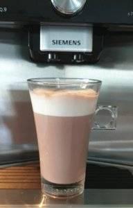 Kaffeevollautomat mit Kakao Zubereitung