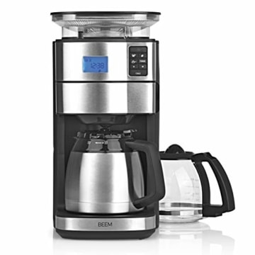 Beem Fresh-Aroma-Perfect II Filterkaffeemaschine mit Mahlwerk