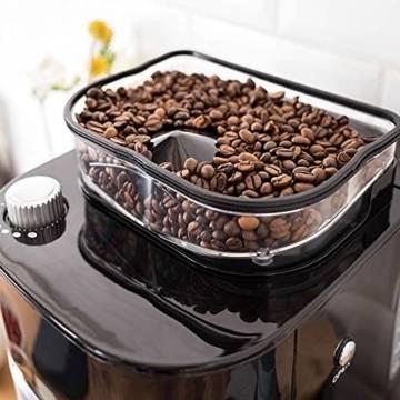 Gastroback Filterkaffeemaschine mit Mahlwerk und Thermoskanne