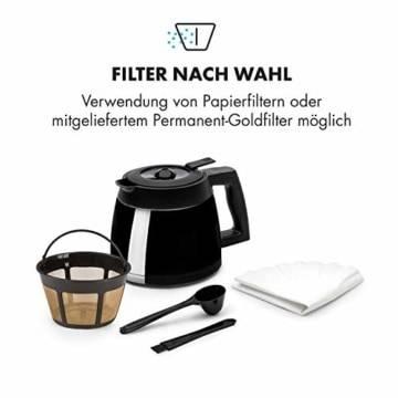 Klarstein Aromatica II Kaffeemaschine mit Mahlwerk