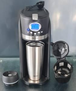 Beem Kleine Kaffeemaschine mit Mahlwerk und Timer
