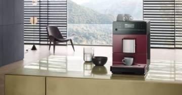 Kaffeevollautomat rot